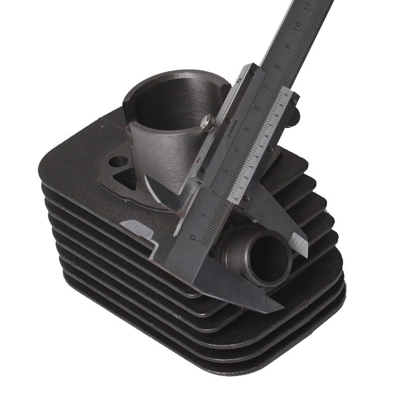 Het opmeten van een Ciao, Citta of SI cilinder