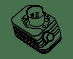 Cilinders Gilera Citta | Compleet assortiment