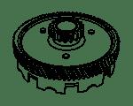 Koppelingsdelen voor uw Yamaha bromfiets