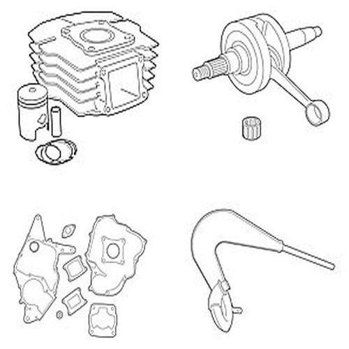 Honda Cilinders, Carburateurs, Lagers, Uitlaten & Meer