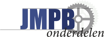 M6 Flensmoer Verhoogd Chroom