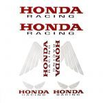 Stickerset Honda Racing 6-Delig