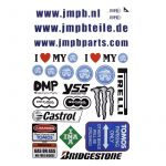 Stickerset JMPB Tomos