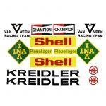 Stickerset Van Veen Racer Compleet