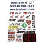 Stickerset JMPB Honda
