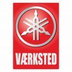 Vaerksted Sticker Yamaha Deens