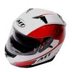 Helm Integraal MT Blade Wit/Rood