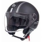Helm Jet Street Entire MT Mat Zwart