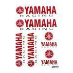 Stickerset Yamaha Racing Groot -  6 Delig