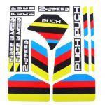 Stickerset Puch 2-Speed Zwart