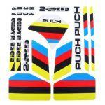 Stickerset Puch 2-Speed Wit