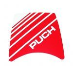 Sticker Koplampspoiler Puch Maxi Rood