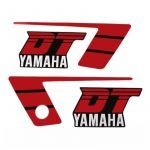 Stickerset Yamaha DT50MX Rood/Zwart