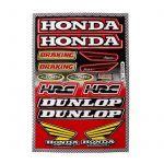 Stickerset Dunlop / Honda