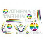 Stickerset Athena 13-Delig
