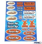 Stickerset Twin Air 26-Delig