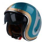 Helm Jet Le Mans II SV MT Hipster