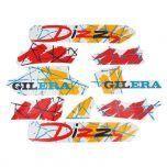 Stickerset Gilera Citta Dizzy Rood/Oranje
