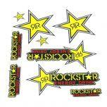 Stickerset Rockstar Energy Groot