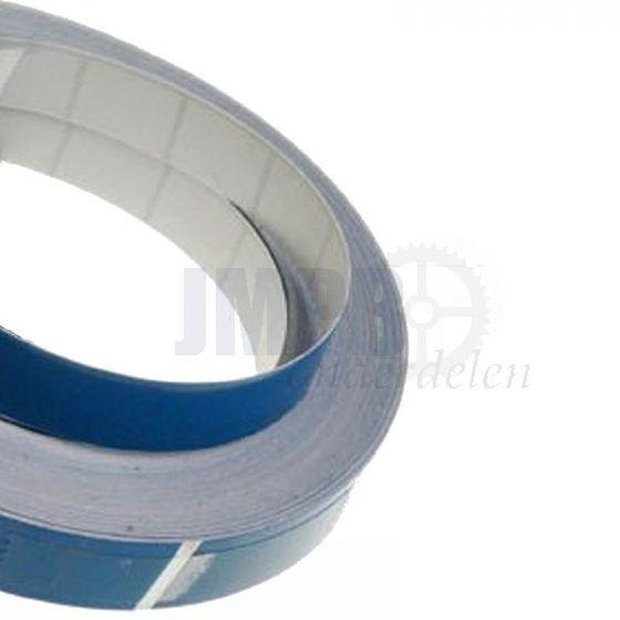 Bies / Striping Blauw 3MM - 10 meter