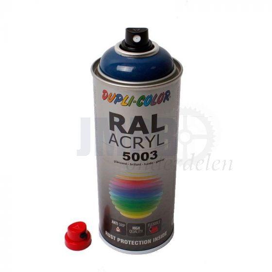 Dupli Color Spuitlak RAL 5003 Saffierblauw - 400ML