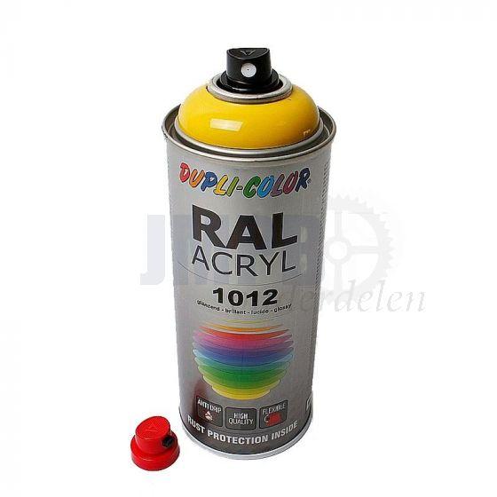 Dupli Color Spuitlak RAL 1012 Citroengeel - 400ML