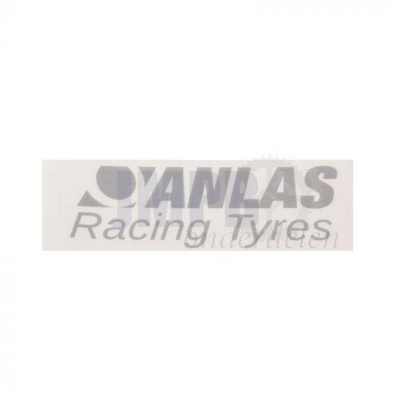 Sticker Anlas Racing Tyres 100X38MM