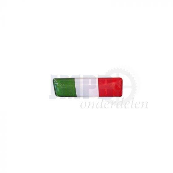 3D Embleem Italia 25X10MM
