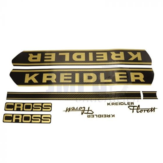 Stickerset Kreidler Cross Carbonlook