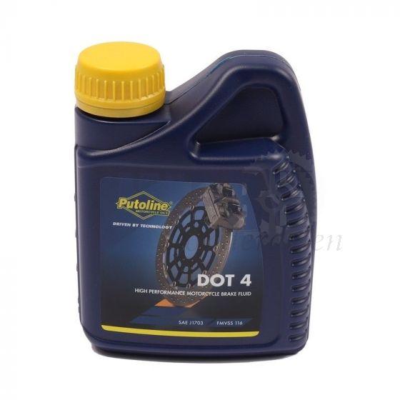 Putoline Remvloeistof DOT4 - 500ML