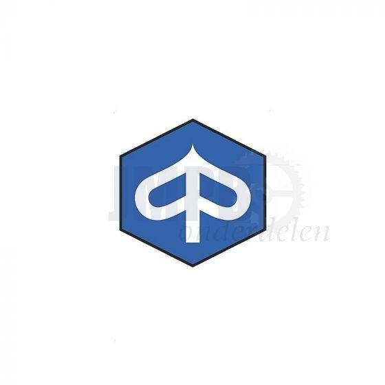Sticker Piaggio Logo Zeskant 55MM