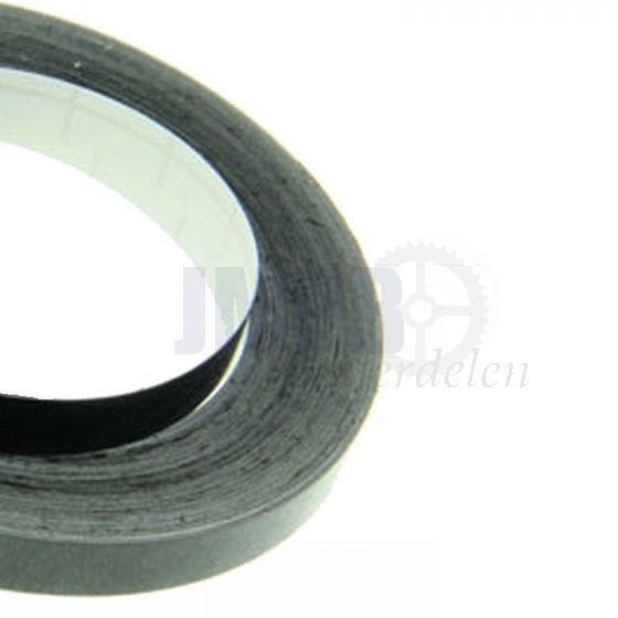 Bies / Striping Zwart 1.5MM - 10 meter