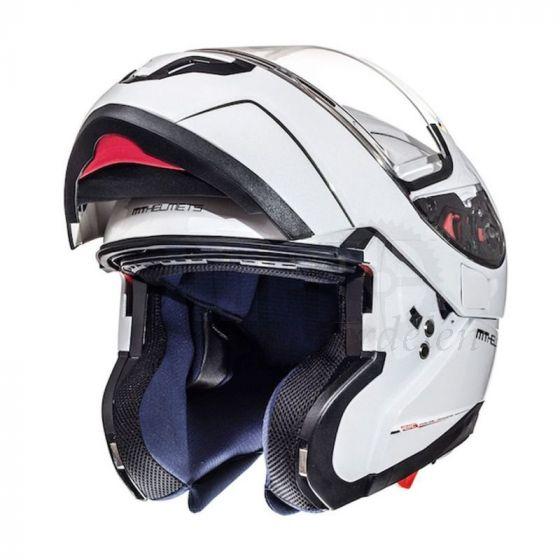 Helm Systeem MT Atom Wit