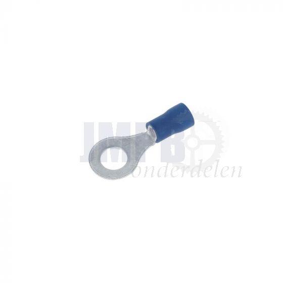 Kabeloogstekker Geisoleerd Blauw M6 A-Kwaliteit