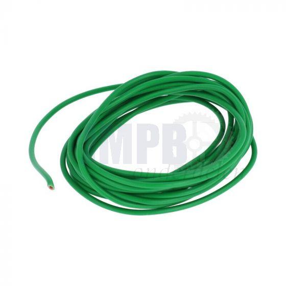Electrisch Draad 3 Mtr Verp. - 1.0MM² Groen