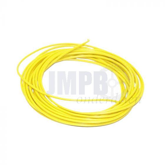 Electrisch Draad 3 Mtr Verp. - 1.0MM² Geel
