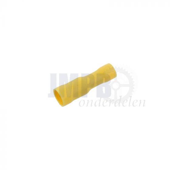 Rondestekkerhuls Geisoleerd Geel 5MM A-Kwaliteit