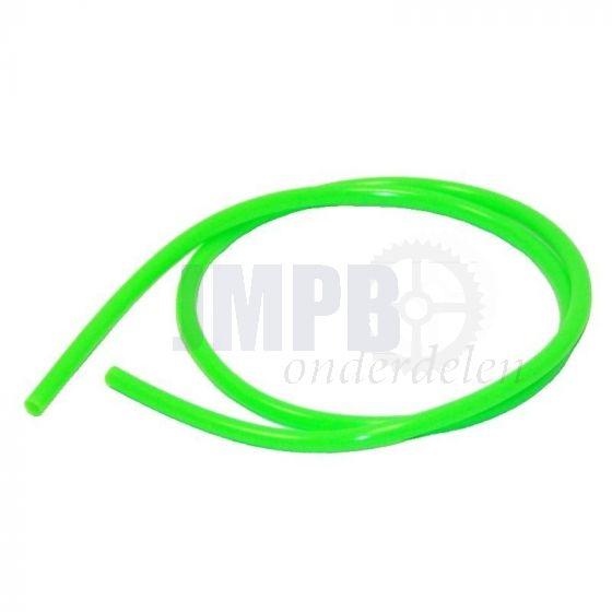 Brandstofslang Groen 1 Mtr