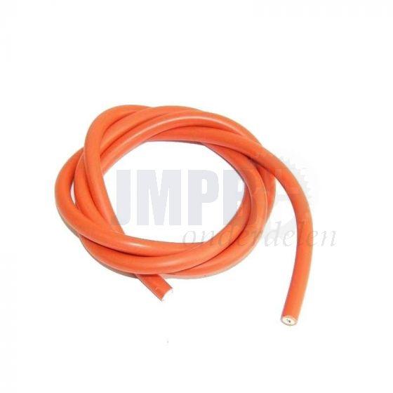 Bougiekabel 7MM Oranje 1 Meter