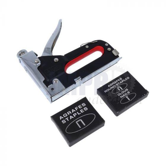 Tacker / Nietmachine in box