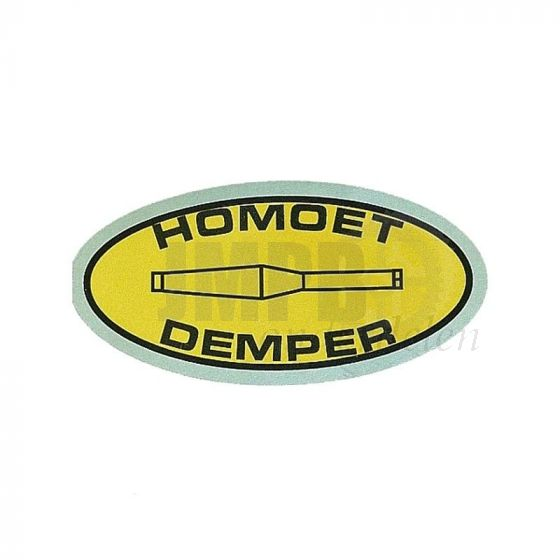 Sticker Homoet 75X38