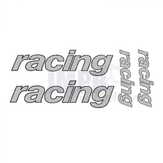Stickerset Racing 4-Delig