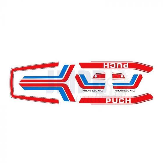 Stickerset Puch Monza 4C
