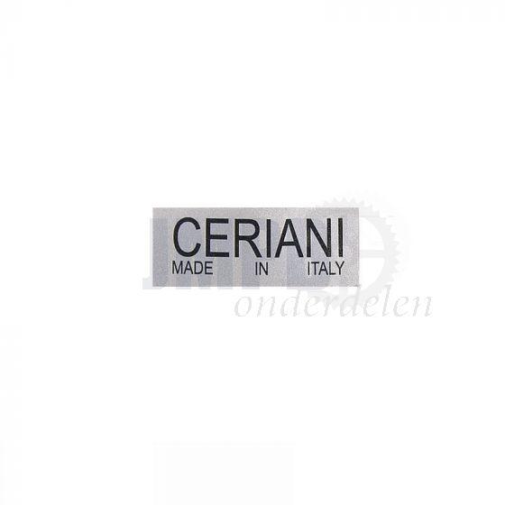 Sticker Ceriani 40X16MM