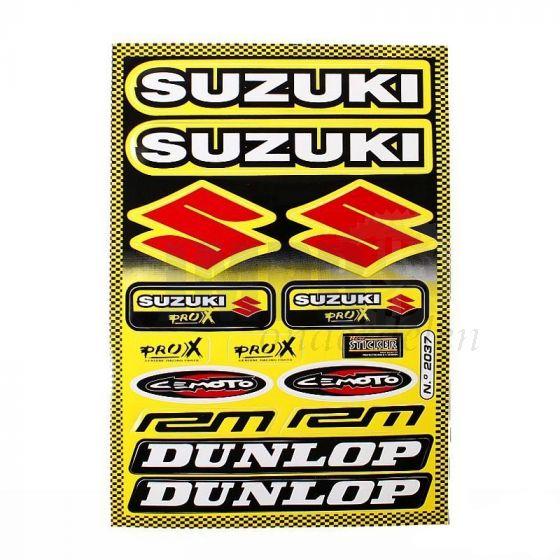 Stickerset Dunlop / Suzuki