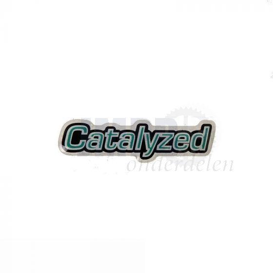 Sticker Tank Catalyzed Vespa Ciao