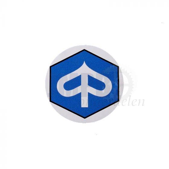 Sticker Logo Piaggio rond 40MM