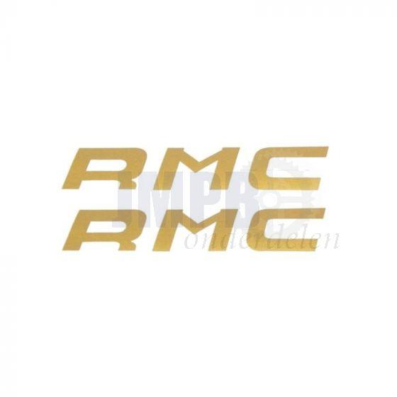 Stickerset Kreidler RMC Goud 135X30MM