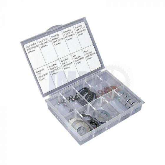 Assortimentset Klein materiaal Zundapp 4/5V Motor 56-Delig