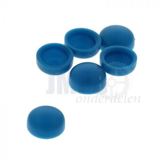 Kapje voor kentekenplaat Blauw P.st